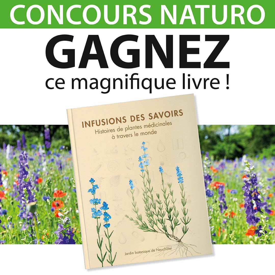 Concours Naturo ! Gagnez un magnifique livre